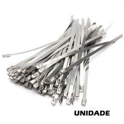 ABRACADEIRA ZIP TIE INOX 300x4,6x0,25mm