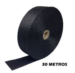 FITA TERMOTAPE PRETO 30 METROS