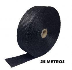 FITA TERMOTAPE PRETO 25 METROS