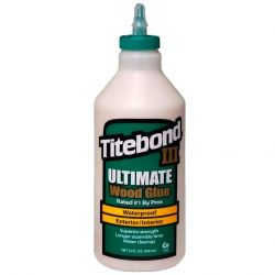 COLA PARA MADEIRA TITEBOND III ULTIMATE WOOD GLUE 1,05 KG