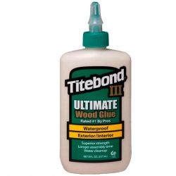 COLA PARA MADEIRA TITEBOND III ULTIMATE WOOD GLUE 263 G