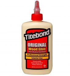 COLA PARA MADEIRA TITEBOND ORIGINAL WOOD GLUE 255 G