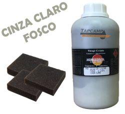 TINGICROM COURO E SINTETICO CINZA CLARO 1 L