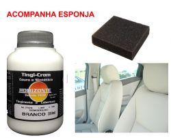 TINGICROM COURO E SINTETICO BRANCO SEMI BRILHO 250ML
