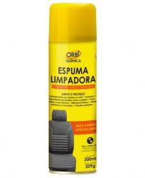ESPUMA LIMPA ESTOFADOS 300 ML ORBI QUIMICA