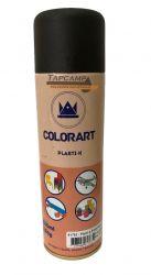 TINTA PLASTI-K PRETO FOSCO COLORART 300 ML
