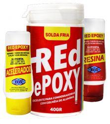 RED EPOXY SOLDA FRIA REFRIGERACAO - BW