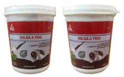SOLDA A FRIO - RESINA + ENDURECEDOR BIOLUB