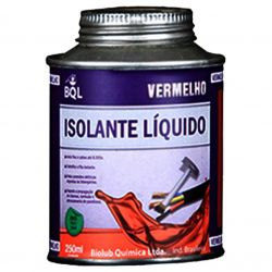 FITA ISOLANTE LIQUIDO VERMELHO 250 ML BIOLUB